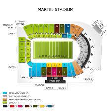 Martin Stadium Tickets Washington State Cougars Home Games