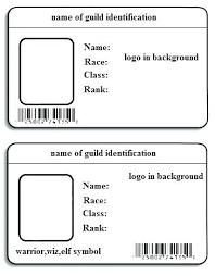 Free Id Card Template Set Design Online Freebiescom