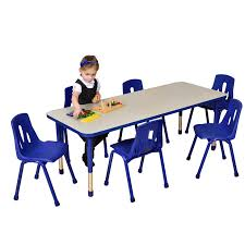 school rectangle table. Thrifty Rectangular Table 6 Seater School Rectangle