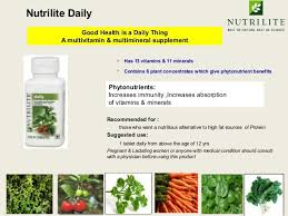 Amway nutrilite daily review benefits, side