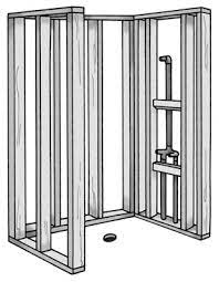 how to install an enclosed shower dummies