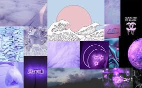 Purple Aesthetic. Laptop Background ...