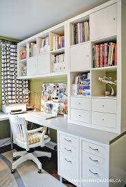 work for the home office. spring cleaning and organizing the home office work for