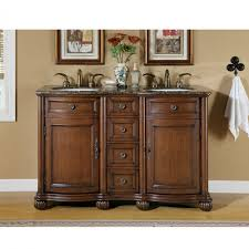 bathroom vanities 49 to 60 inches wide with free 52 inch small double sink vanity with baltic brown countertop