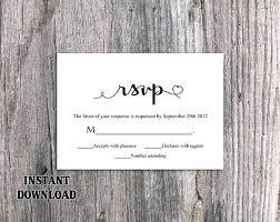 Free Online Rsvp Template Wedding Invitation Wording Templates