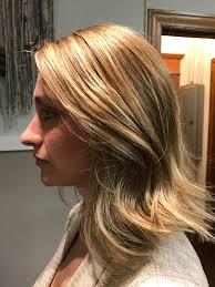 Hair Haircut Haircolor Highlight Curls Blonde