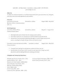 Current College Student Resume Examples Mesmerizing Good Resume Examples For College Students With No Experience
