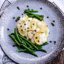 Cod with Lemon and Capers recipe by ...