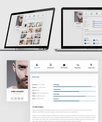 Resume And Portfolio Website Templates Free Psd Download Download