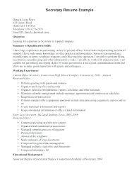 Telephone Receptionist Resume Reception Resume Gym Receptionist ...