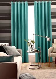 Aqua Blue Curtain Panels Home Design Ideas