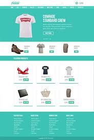 Ecommerce Website Template Classy Tshirt ECommerce PSD Template Website Templates Pinterest