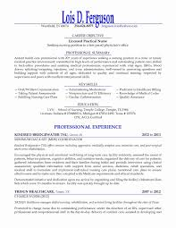 Lpn Resume Sample New Graduate Good Resume Examples For Jobs