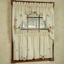 Gingerbread Kitchen Curtains Curtain Valances And Swags Decorate Our Home With Beautiful Curtains