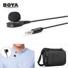 New <b>BOYA BY HLM1</b> Wearable Pin Microphone Omnidirection ...