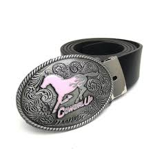 Cowgirl Up Jeans Size Chart Western Cowgirls Belts For Women Jeans Oval Pink Horse Cowgirl Up Metal Belt Buckle Black Pu Leather Female Belt Cinto Feminino Garter Belt Sets