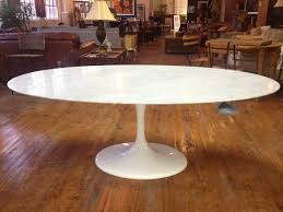 furniture quot eero saarinen style tulip dining table white saarinen oval dining table 244 identify a