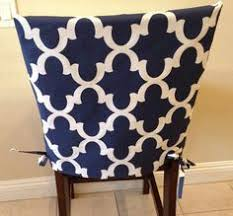 kitchen chair slipcover chair back cover by brittaleighdesigns