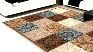 brown and blue area rugs cream for chocolate gray rug tan