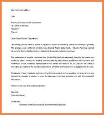Letter Of Appeal Sample Template Enchanting Letter Of Appeal Sample Template Resume Builder For Example Of