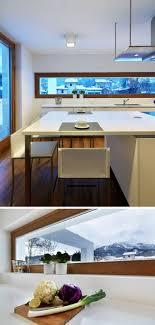 Schmale Fenster Für Die Küche Viel Licht Perfekte Privatsphäre