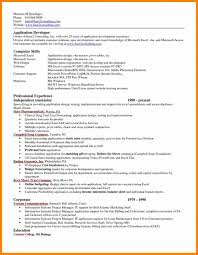 Excel Resume Templaterosoft Templates With Microsoft Ms Word