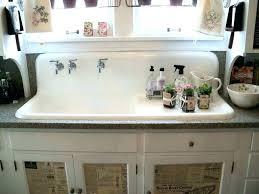farmhouse sink with drainboard clarion canada legs farmhouse