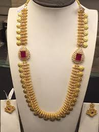 Gold Necklace Designs In 80 Grams With Price 80 Gms Long Necklace Kas Gold Jewellery Design Jewelry