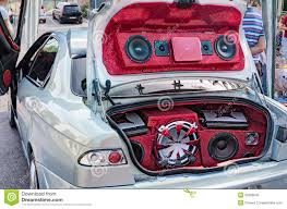 How To Design A Good Car Audio System Car Sound System Editorial Image Image Of Loud Auto 26289045