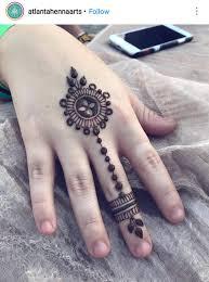 Henna Hand And Wrist Idea Mehndi Art Designs Simple Henna