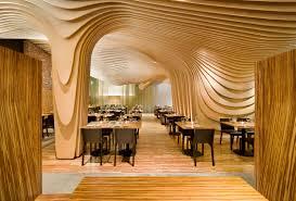 architectural interior design. Interesting Interior Wavy Architectural Design Ceilings Walls Furniture To Interior Design