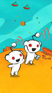 750x1334 Reddit Cartoon 4k iPhone 6 ...