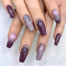 Trends Women 2019 With Acrylic Coffin Nails 12 Nehty V Roce 2019