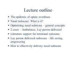 Lecture Outline For Narcan Wiring Diagrams