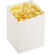 Decorative Popcorn Boxes Amazon Mini White Popcorn Boxes 60 Pack 60 X 60 X 60 Paper 25
