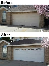 garage doors with windows. Before And After: New Garage Door Windows Match Home Exterior Doors With
