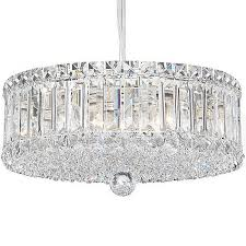 decoration emilia drum crystal pendant light lighting awesome chandelier with regarding crystal drum chandelier ideas
