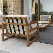 modern wooden outdoor furniture. Contemporary Furniture TALENTI Alabama Modern Garden Sofa  Wooden Furniture  Luxury Hardwood Outdoor Sofa With U