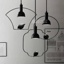 Vintage Industriële Edison Vogel Plafond Lamp Armatuur E27 Base Led