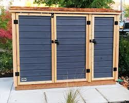 phenomenal outdoor shed for bike storage redwood on front pad generator washer and dryer lawn mower