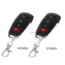 315mhz 433mhz universal remote control duplicator cloning copying transmitter garage door opener switches key fob drop ship xboxs 360 remote controllers