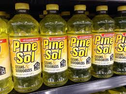 can you use pine sol on laminate floors