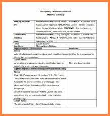 Meeting Summary Sample Meeting Summary Format Elim Carpentersdaughter Co