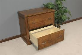 lateral file cabinet. Amish Solid Wood Lateral File Cabinet