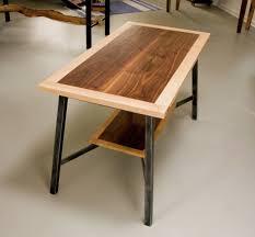 modern wood and metal furniture. Lightning - Steel Root Furniture, Modern Wood And Metal Slab Natural Dining Tables, Live Edge Furniture