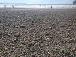 beach in cayucos sea glass