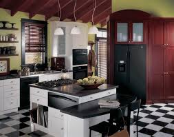 Kitchen Cabinet Factory Staten Island Kitchens With Silestone Countertops  Ogee Edge Countertop Black Granite Top Island