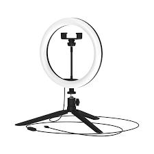 <b>Светильник</b> кольцевой светодиодный <b>Gauss</b> Ring Light Ø26 см с ...