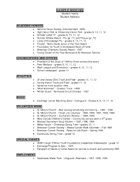 Resume Honors Resume For Your Job Application