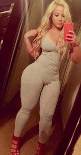 Blonde Thick White Girl